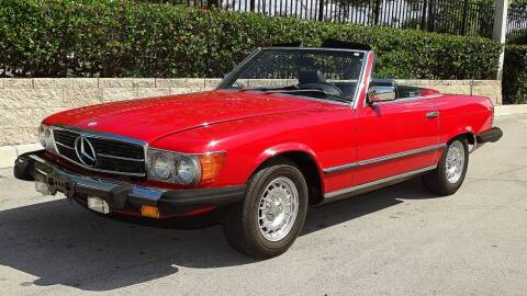 1985 Mercedes-Benz 380-Class for sale at Premier Luxury Cars in Oakland Park FL