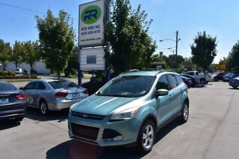 2013 Ford Escape for sale at Rite Ride Inc in Murfreesboro TN