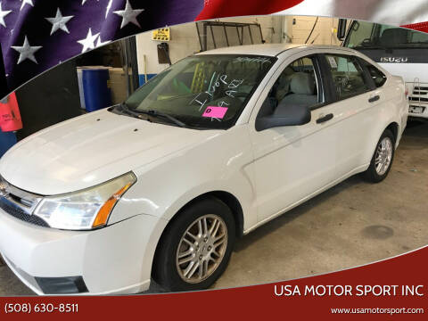 2010 Ford Focus for sale at USA Motor Sport inc in Marlborough MA