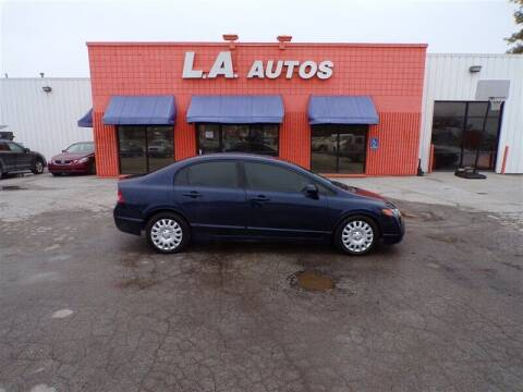 2008 Honda Civic for sale at L A AUTOS in Omaha NE