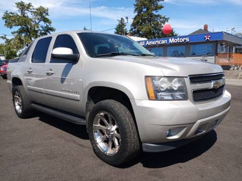 2008 Chevrolet Avalanche for sale at All American Motors in Tacoma WA