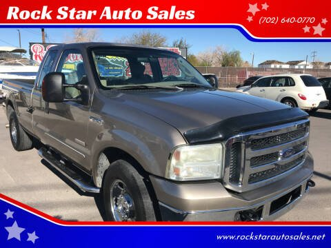2006 Ford F-250 Super Duty for sale at Rock Star Auto Sales in Las Vegas NV