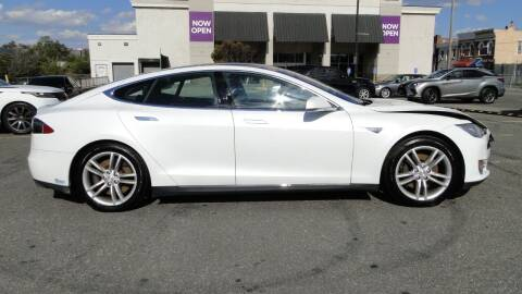 2012 Tesla Model S for sale at AFFORDABLE MOTORS OF BROOKLYN in Brooklyn NY