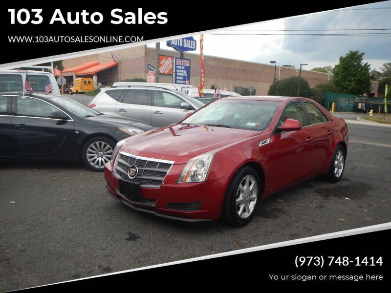 2009 Cadillac CTS for sale at 103 Auto Sales in Bloomfield NJ