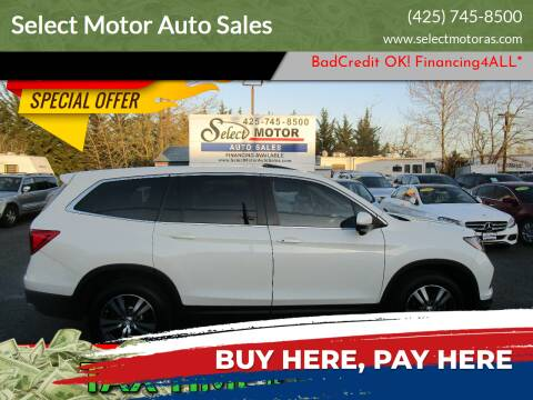 2016 Honda Pilot for sale at Select Motor Auto Sales in Lynnwood WA