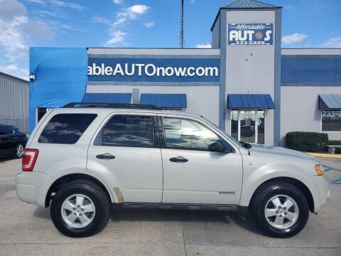 2008 Ford Escape for sale at Affordable Autos in Houma LA