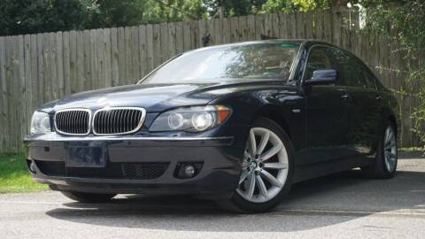 2008 BMW 7 Series for sale at Hidalgo Motors Co in Houston TX