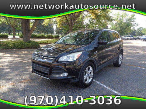 2013 Ford Escape for sale at Network Auto Source in Loveland CO