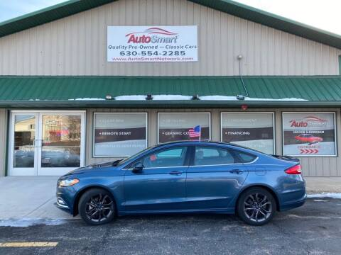 2018 Ford Fusion for sale at AutoSmart in Oswego IL