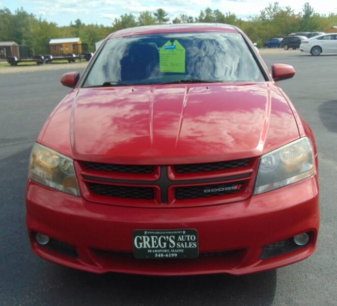 2013 Dodge Avenger for sale at Greg's Auto Sales in Searsport ME