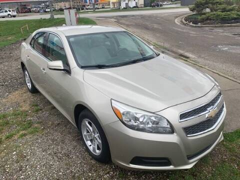 2013 Chevrolet Malibu for sale at Edens Auto Ranch in Bellaire OH