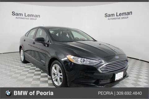 2018 Ford Fusion Hybrid for sale at BMW of Peoria in Peoria IL
