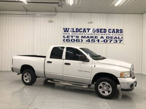 2004 Dodge Ram Pickup 1500 for sale at Wildcat Used Cars in Somerset KY