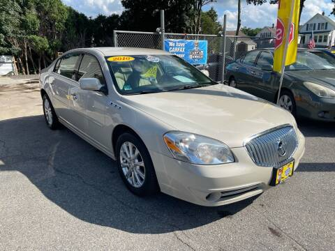 2010 Buick Lucerne for sale at JK & Sons Auto Sales in Westport MA