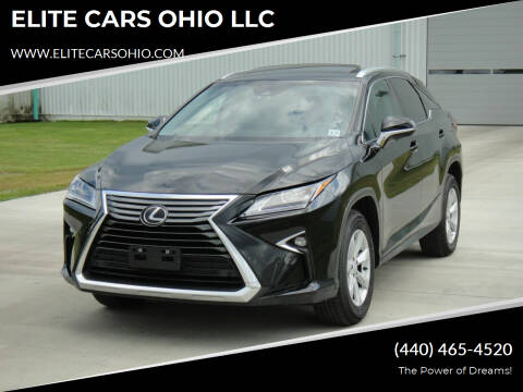 2016 Lexus RX 350 for sale at ELITE CARS OHIO LLC in Solon OH