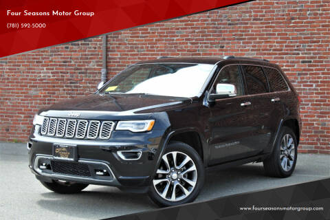 2018 Jeep Grand Cherokee for sale at Four Seasons Motor Group in Swampscott MA