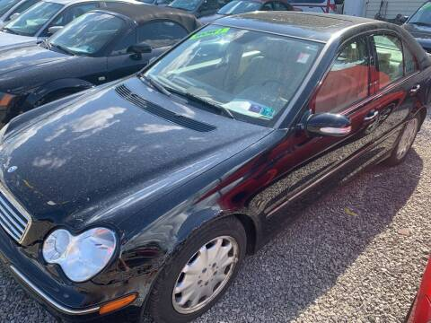 2006 Mercedes-Benz C-Class for sale at Trocci's Auto Sales in West Pittsburg PA