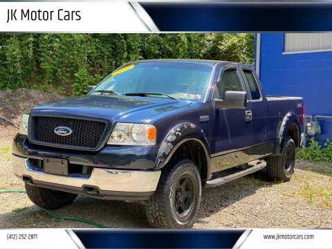 2005 Ford F-150 for sale at JK Motor Cars in Pittsburgh PA