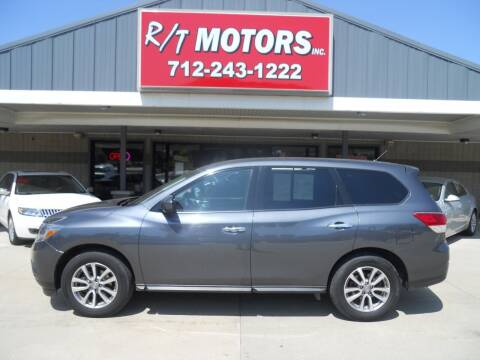 2013 Nissan Pathfinder for sale at RT Motors Inc in Atlantic IA