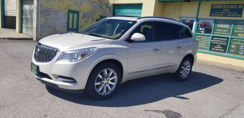 2015 Buick Enclave for sale at Stewart Auto Sales Inc in Central City NE