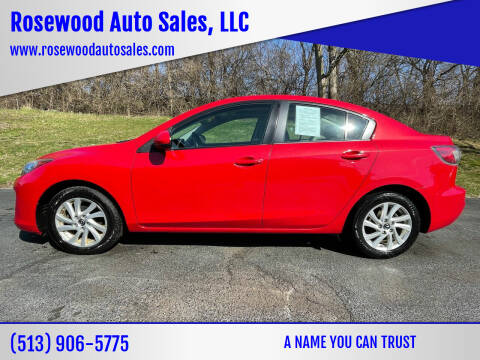 2013 Mazda MAZDA3 for sale at Rosewood Auto Sales, LLC in Hamilton OH