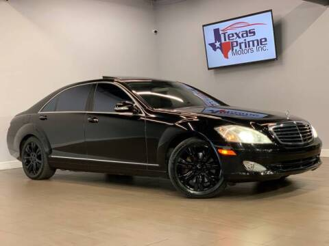2009 Mercedes-Benz S-Class for sale at Texas Prime Motors in Houston TX