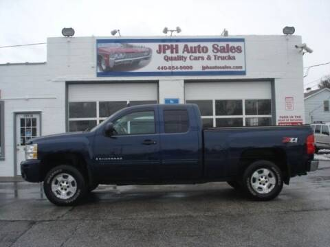2009 Chevrolet Silverado 1500 for sale at JPH Auto Sales in Eastlake OH