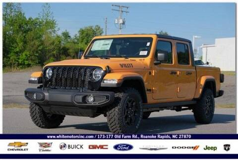 2021 Jeep Gladiator for sale at WHITE MOTORS INC in Roanoke Rapids NC