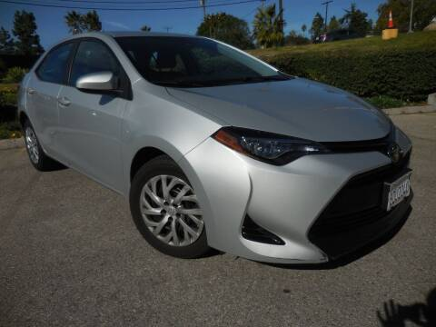 2018 Toyota Corolla for sale at ARAX AUTO SALES in Tujunga CA