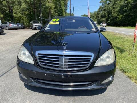 2007 Mercedes-Benz S-Class for sale at Star Auto Sales in Richmond VA