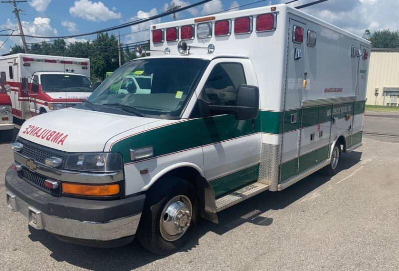 2010 Chevrolet G3500 for sale at Global Emergency Vehicles Inc in Levittown PA