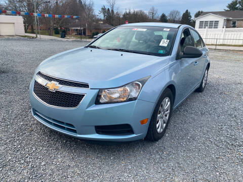 2011 Chevrolet Cruze for sale at McNamara Auto Sales - Red Lion Lot in Red Lion PA