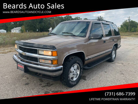 1995 Chevrolet Tahoe for sale at Beards Auto Sales in Milan TN