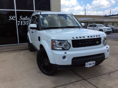 2011 Land Rover LR4 for sale at SC SALES INC in Houston TX