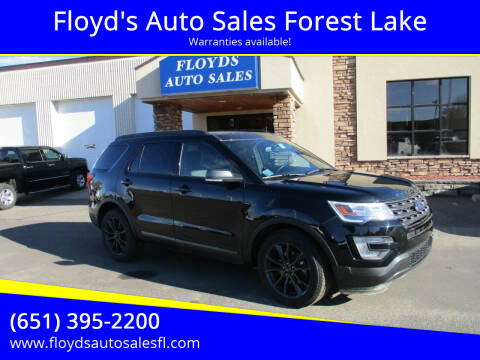2017 Ford Explorer for sale at Floyd's Auto Sales Forest Lake in Forest Lake MN