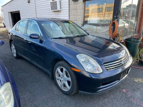 2004 Infiniti G35 for sale at Dennis Public Garage in Newark NJ