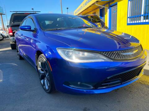 2015 Chrysler 200 for sale at New Wave Auto Brokers & Sales in Denver CO