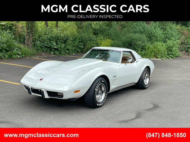 1975 Chevrolet Corvette for sale at MGM CLASSIC CARS-New Arrivals in Addison IL