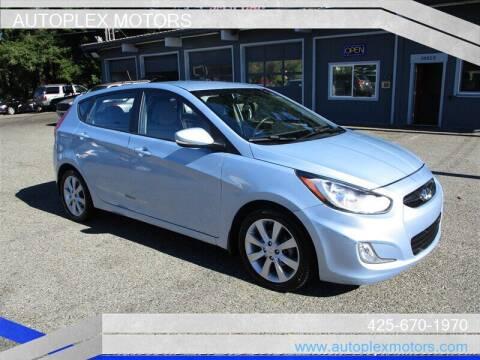 2013 Hyundai Accent for sale at Autoplex Motors in Lynnwood WA