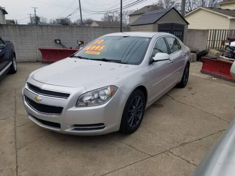 2012 Chevrolet Malibu for sale at Madison Motor Sales in Madison Heights MI