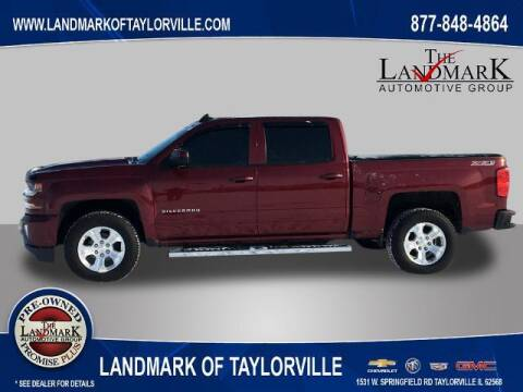 2017 Chevrolet Silverado 1500 for sale at LANDMARK OF TAYLORVILLE in Taylorville IL