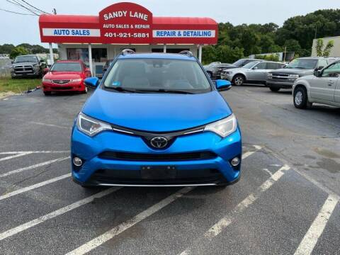 2017 Toyota RAV4 for sale at Sandy Lane Auto Sales and Repair in Warwick RI