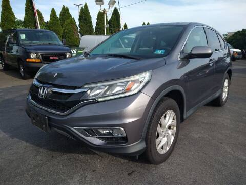 2015 Honda CR-V for sale at P J McCafferty Inc in Langhorne PA