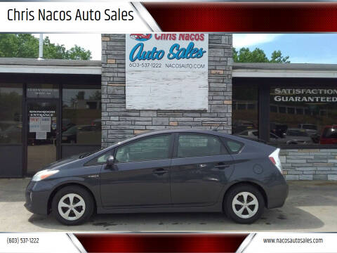 2013 Toyota Prius for sale at Chris Nacos Auto Sales in Derry NH