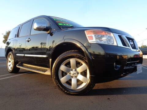 2011 Nissan Armada for sale at ALL STAR TRUCKS INC in Los Angeles CA