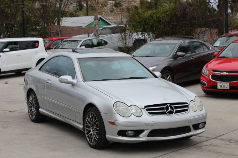 2005 Mercedes-Benz CLK for sale at Car 1234 inc in El Cajon CA