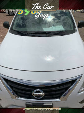 2015 Nissan Versa for sale at The Car Guys in Tucson AZ