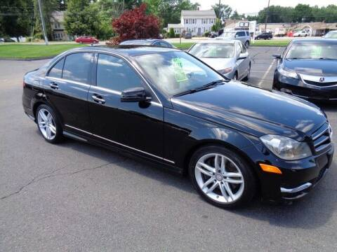 2014 Mercedes-Benz C-Class for sale at BETTER BUYS AUTO INC in East Windsor CT