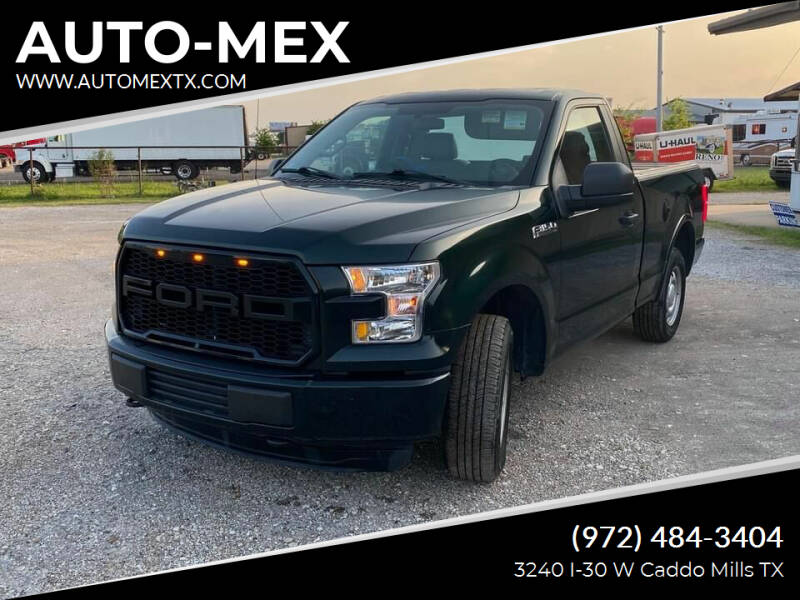 2016 Ford F-150 for sale at AUTO-MEX in Caddo Mills TX