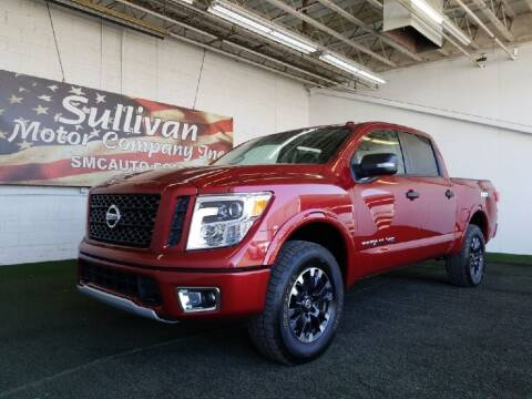 2019 Nissan Titan for sale at SULLIVAN MOTOR COMPANY INC. in Mesa AZ